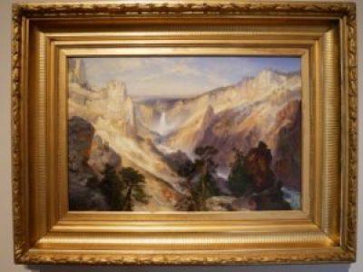 Peinture Thomas Moran - De Young à San Francisco