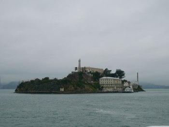 Alcatraz - vue depuis le ferry