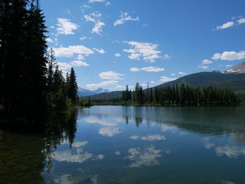 Lac Pyramide à Jasper