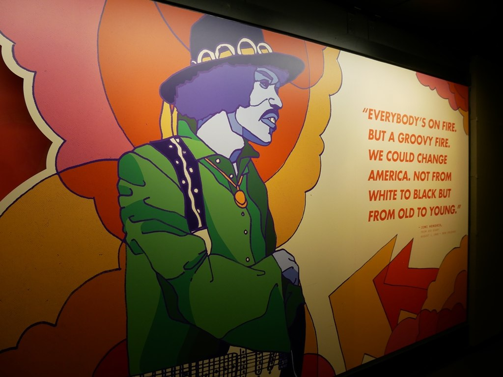 MoPOP - Hendrix à Seattle