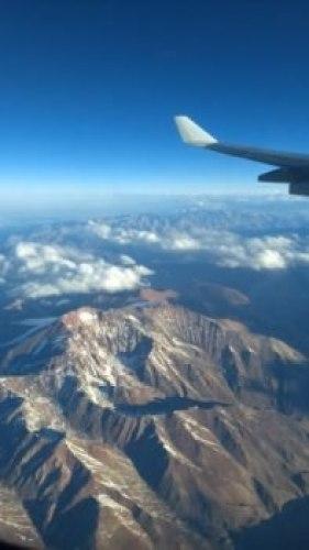 Au dessus de la Cordillère des Andes - Journal de bord au Chili