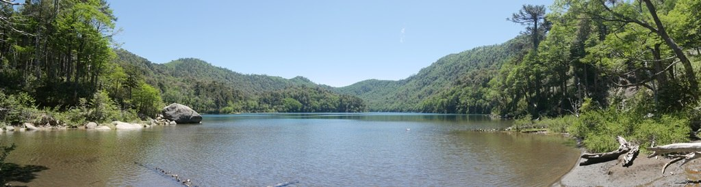 Huerquehue et ses lagunes