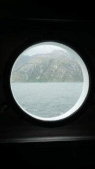 Vue du hublot - Journal de bord