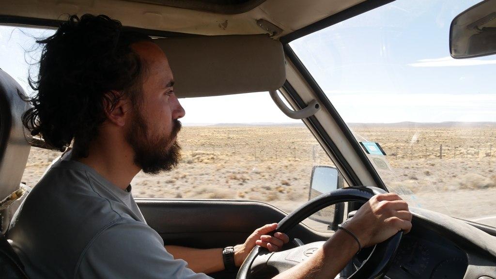 Pierre sur la Ruta 40