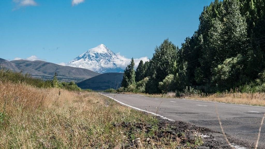 Volcan Lanin Argentine
