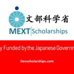 Japanese Government (MEXT) Scholarship for Foreign Students