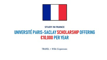 Université Paris-Saclay International Master's Scholarships, 2019