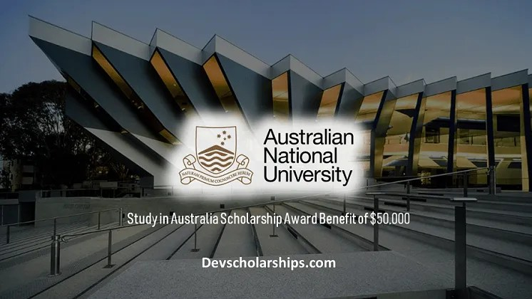 Australian National University Masters in Applied Epidemiology Scholarship, 2019