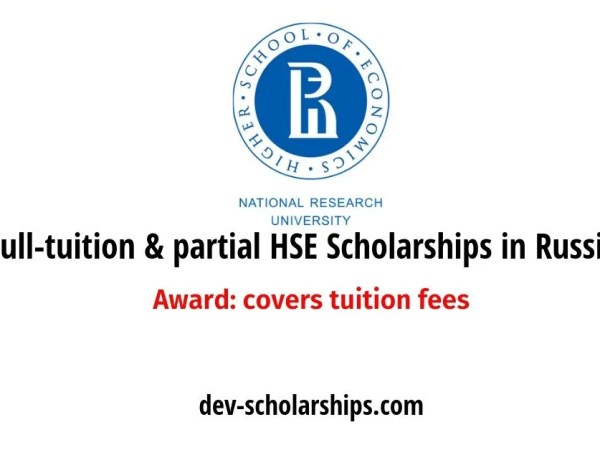 Full-Tuition HSE Scholarships in Russia for International Students, 2019