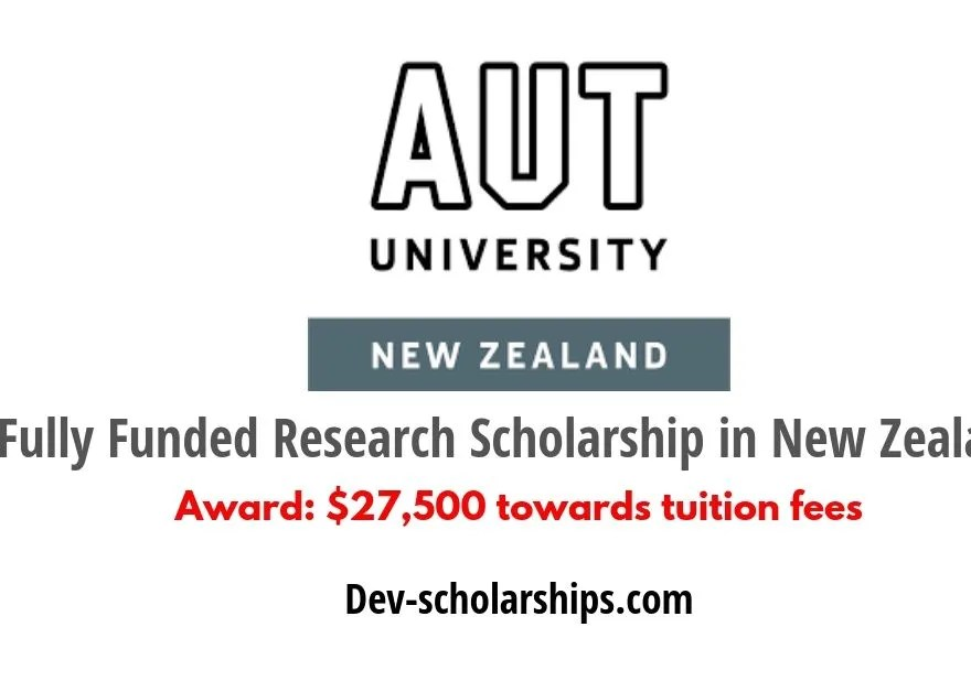 Auckland University of Technology Fully Funded PhD Award in New Zealand, 2019