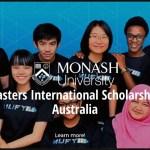 Monash University Faculty of Law Masters International Scholarship, Australia