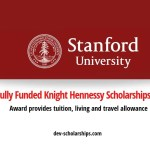 Fully Funded Stanford University Knight Hennessy Scholarships Program in USA, 2020