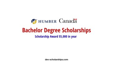 Humber College International Undergraduate Scholarships in Canada, 2019
