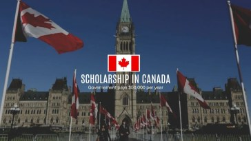 Vanier Government of Canada Scholarships for Canadian and Foreign Students