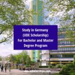 University of Duisburg-Essen Scholarships for Bachelor and Master Degree in Germany, 2020