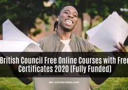 British Council Free Online Courses with Free Certificates 2020 (Fully Funded)