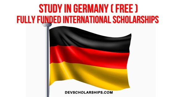 Fully Funded International Scholarships in Germany
