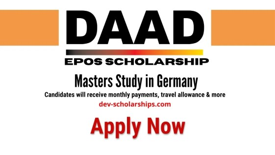 Master Program DAAD-EPOS Scholarship for Developing Countries, Germany