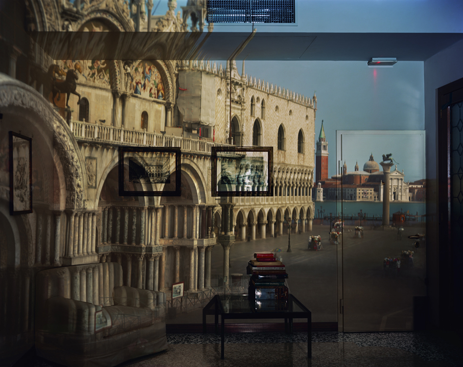 Upright Camera Obscura: Piazzetta San Marco Looking Southeast in Office, 2007