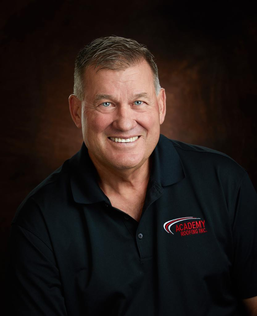 FOUNDER & PRESIDENT CURT BOYD of academy roofing in denver colorado