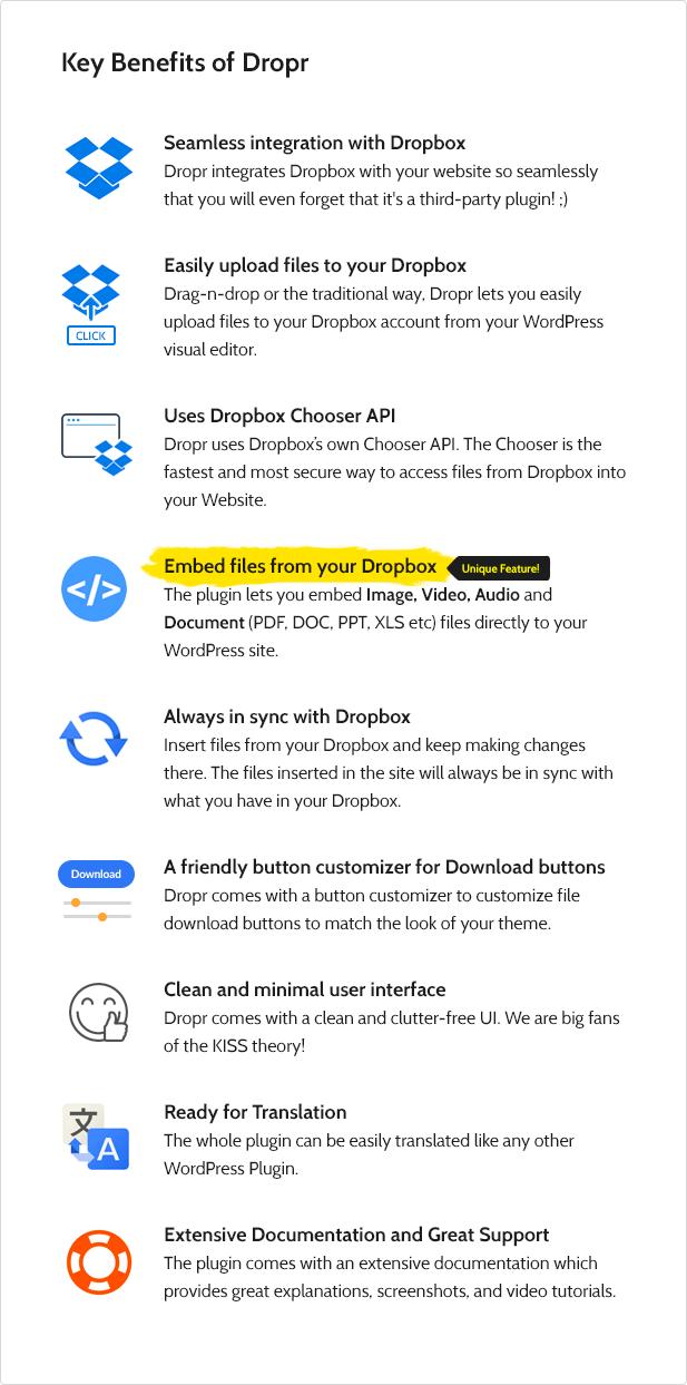 Dropr - Plugin de Dropbox para WordPress - Quiero ser Millonario