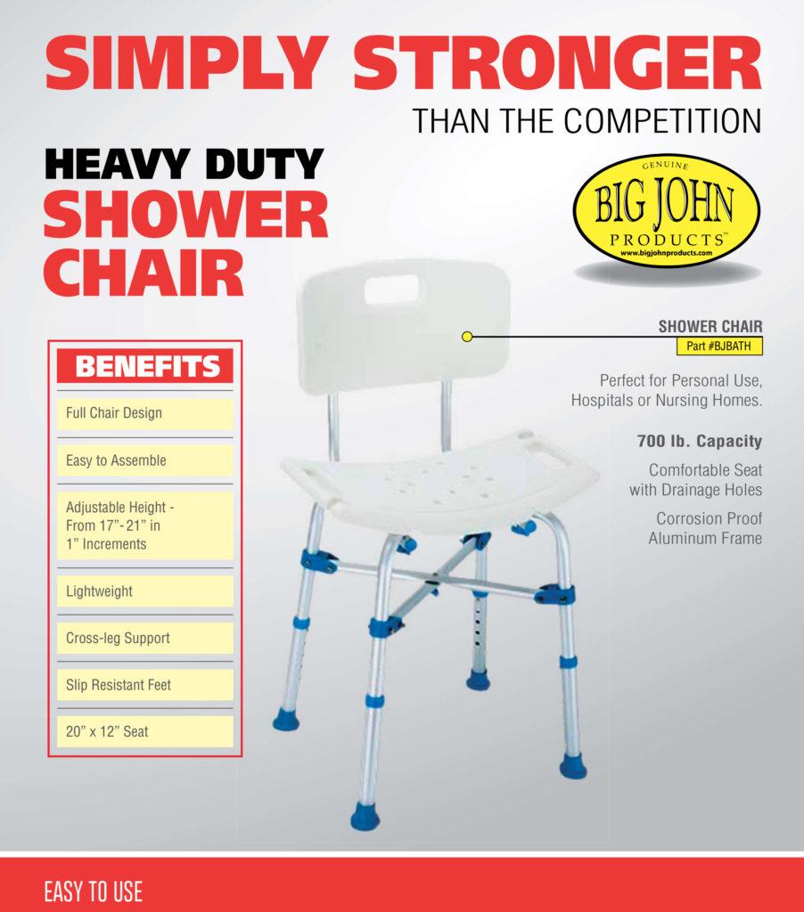 bariatric commode chair heavy duty shower chair big john