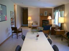 retreat center living room