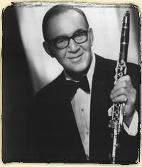 Benny Goodman visited our shop