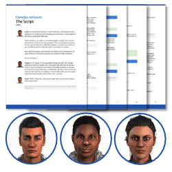 Virtual Reality Diversity Inclusion Training Script Guides