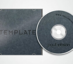 Vector CD and CD Cover Design Template