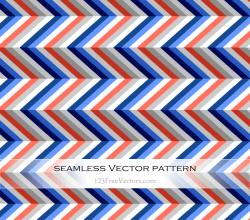 Colorful Zigzag Pattern Background