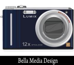 Lumix Camera Free Vector Image