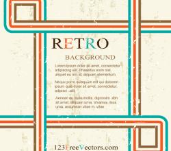 Retro Background Design Graphics