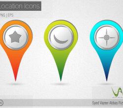Vector Location Mark
