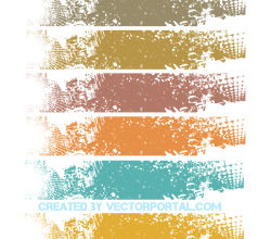 Grunge Banner Background Design