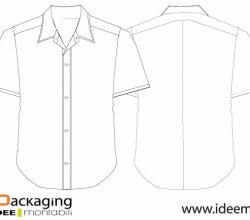 Shirt Vector Template