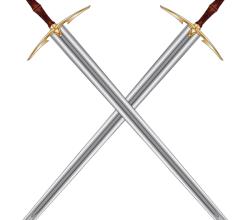 Vector Medieval Longsword