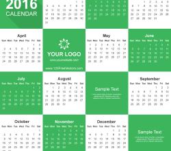 Free Calendar 2016 Download