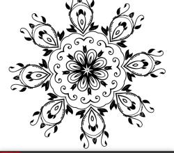 Ornate Design Elements Vector Graphics