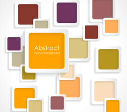 Modern Abstract Squares Background Graphics