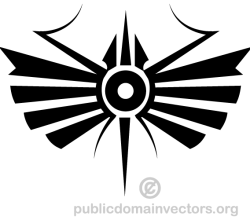 Decorative Tribal Symbol Image
