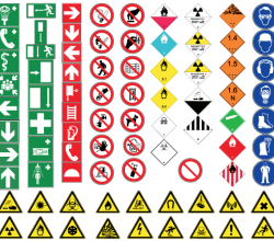 Free Vector Health and Safety Signs