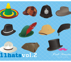 Hat Free Vector Pack