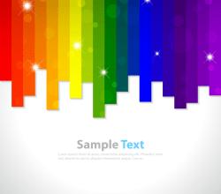 Rainbow Background Clip Art