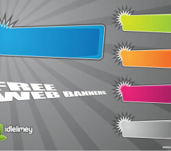 Free Web Banners Vector