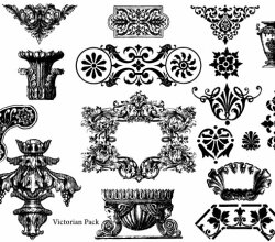 Victorian Free Vector Pack