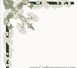 Free Border Corner Ornament Vector