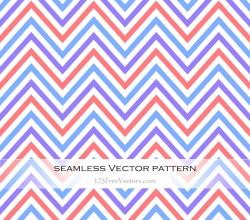 Colorful Chevron Pattern Wallpaper