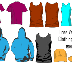 T-Shirt Apparel Vector Illustrator Template Pack