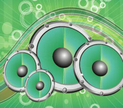 Sound Green Vector